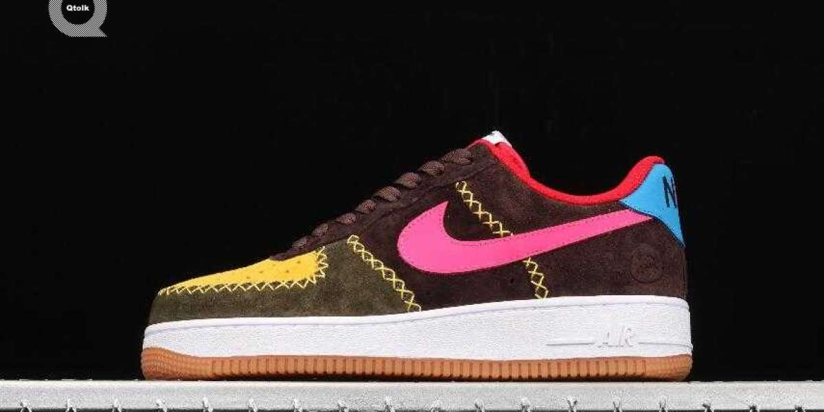 Nike Air Force 1 Low Cactus Jack Yellow Brown Green Pink Blue for Sale