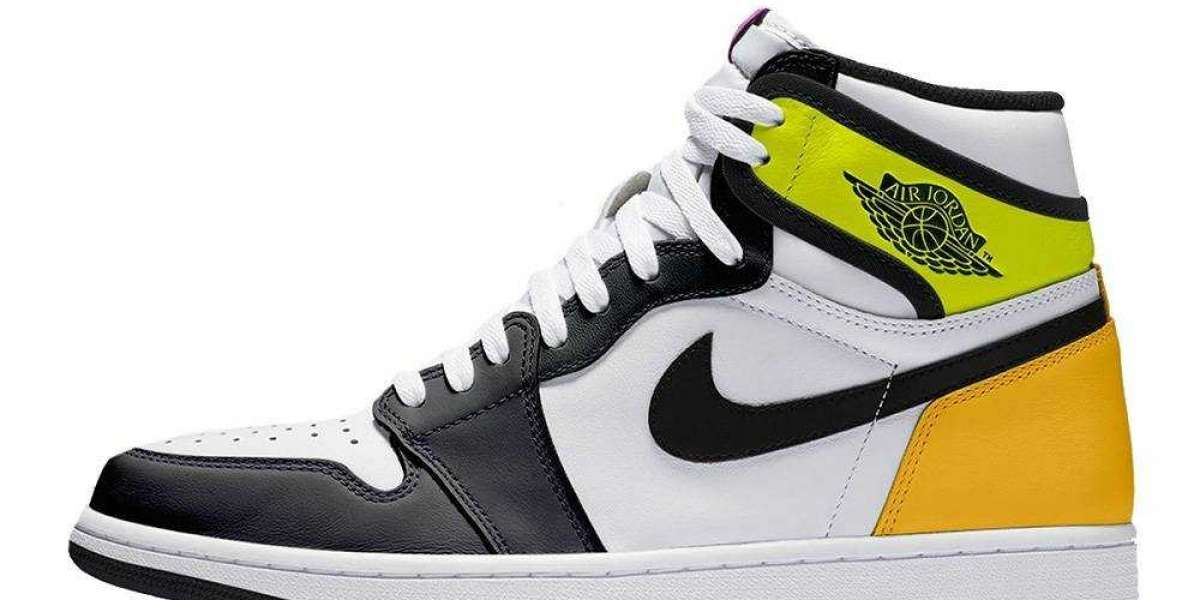 Cheap Sale 555088-118 Air Jordan 1 High Volt Gold is Available Now