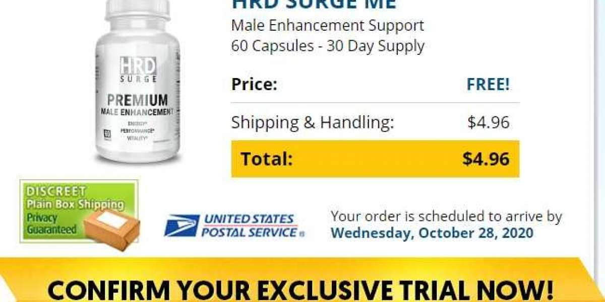 HRD Surge Male Enhancement Rush your Order & Get Special discounts