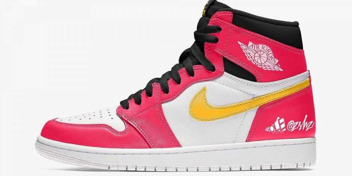 "Aj 1 High OG ""Light Fusion Red"" 555088-603 will be released in spring 2021"