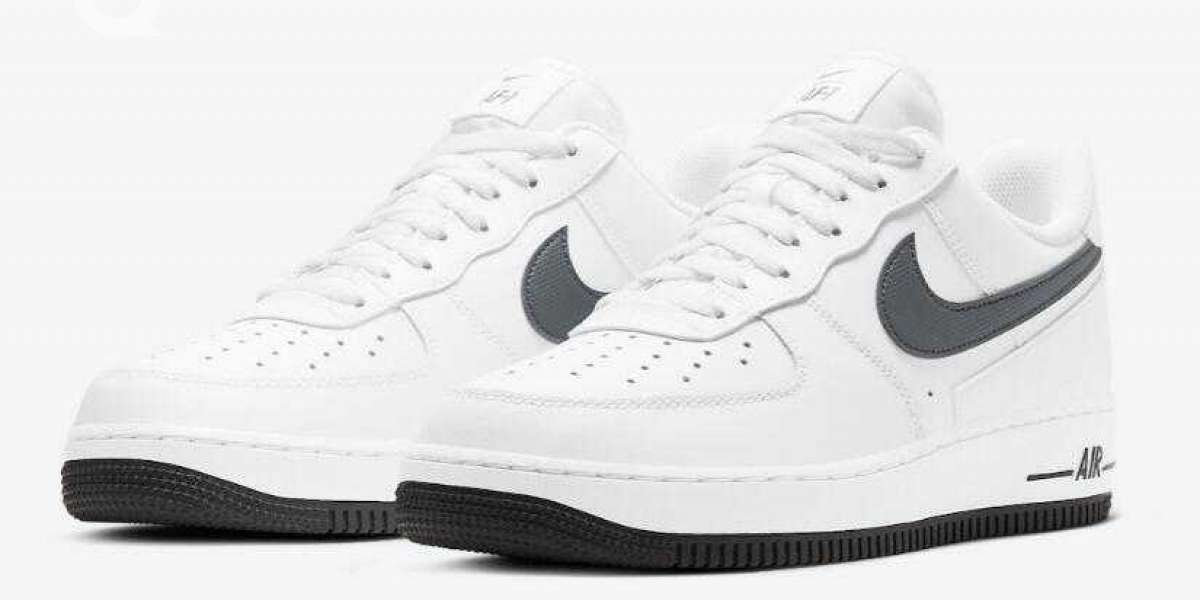 Nike Air Force 1 Low Release A Clean White Grey New Makeover