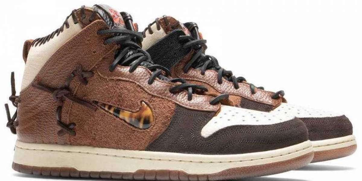 "CZ8125-200 Bodega x Nike Dunk High ""Legend"" Is One Of The Most Worth Buying This Month"