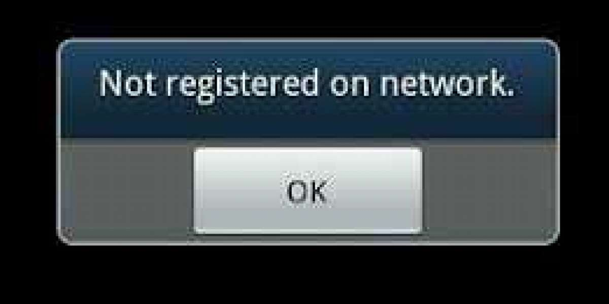 How to fix a mobile that appears as not registered on network