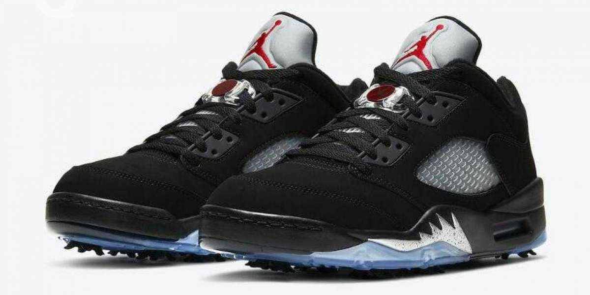 "Hot Air Jordan 5 Low Golf ""Black Metallic"" To Release Soon"